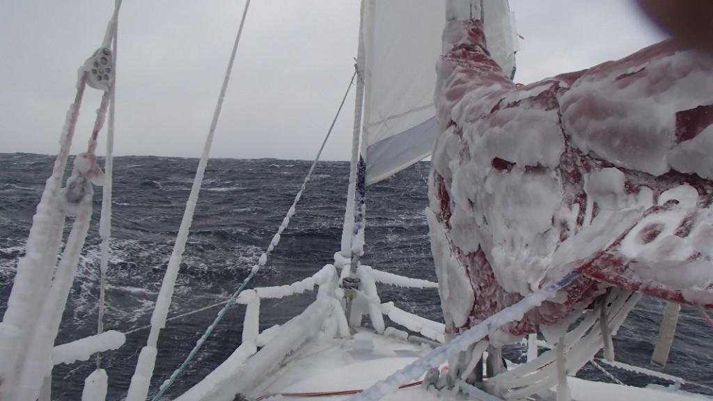 icy seas